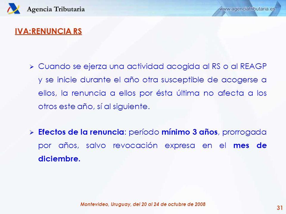 IVA:RENUNCIA RS