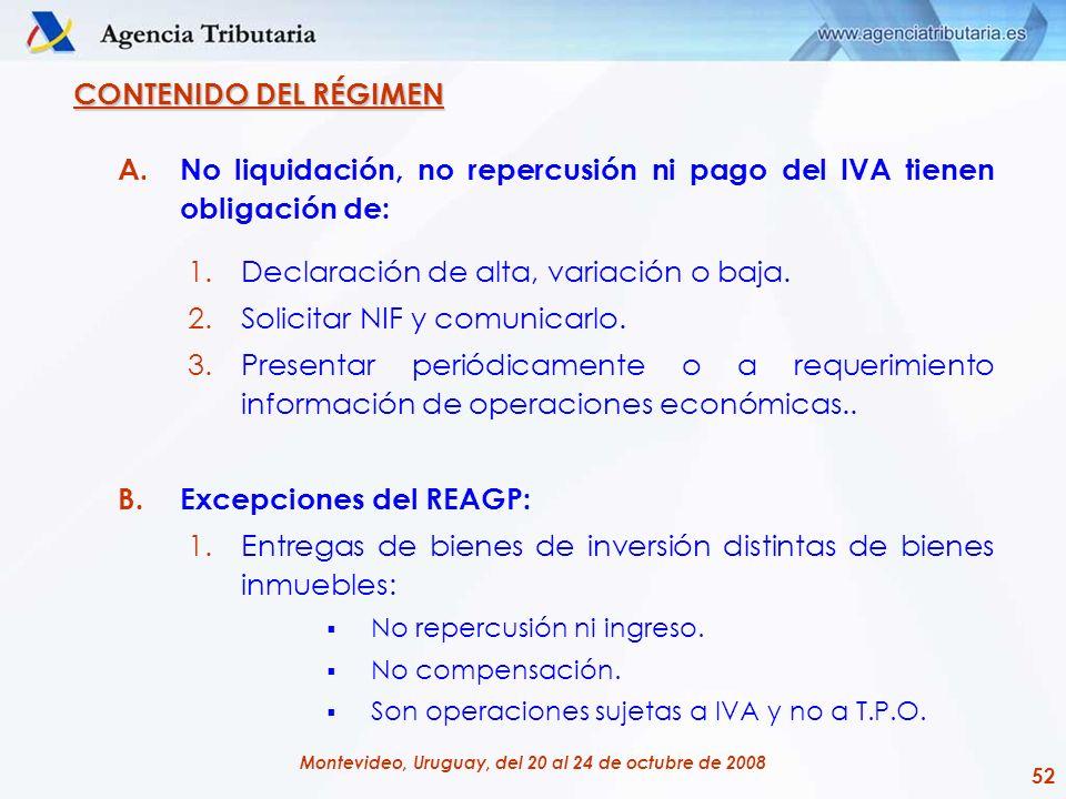 No liquidación, no repercusión ni pago del IVA tienen obligación de: