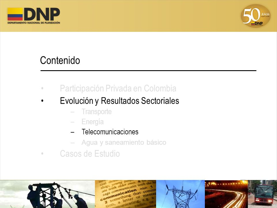 Contenido Participación Privada en Colombia