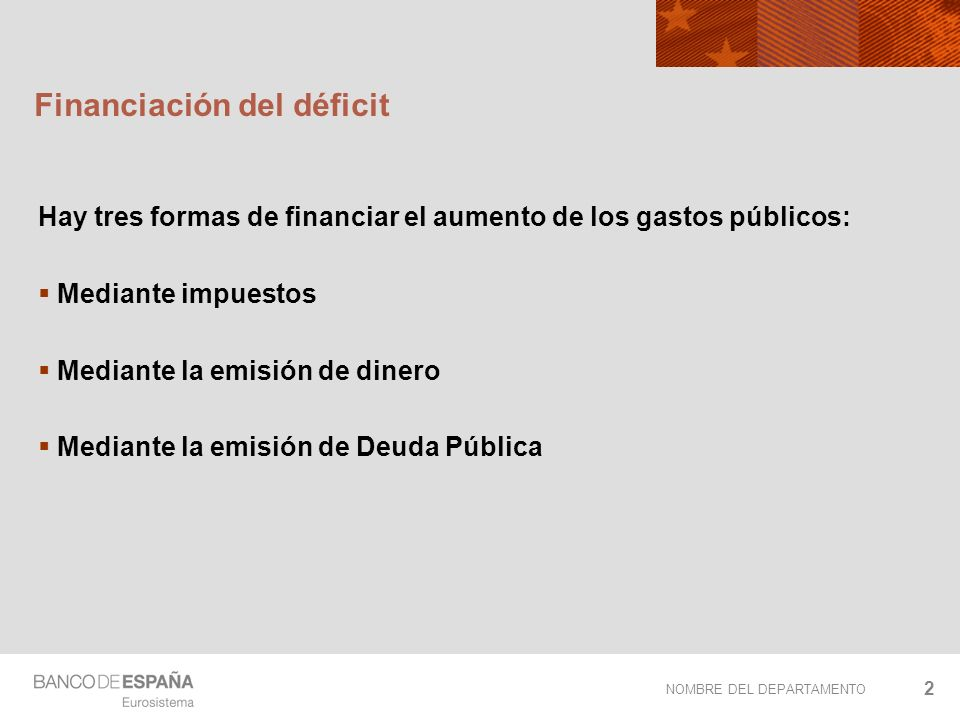 Financiación del déficit
