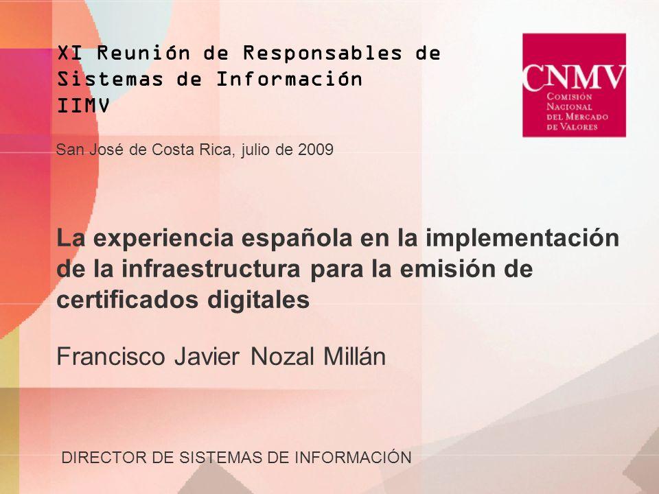 XI Reunión de Responsables de Sistemas de Información