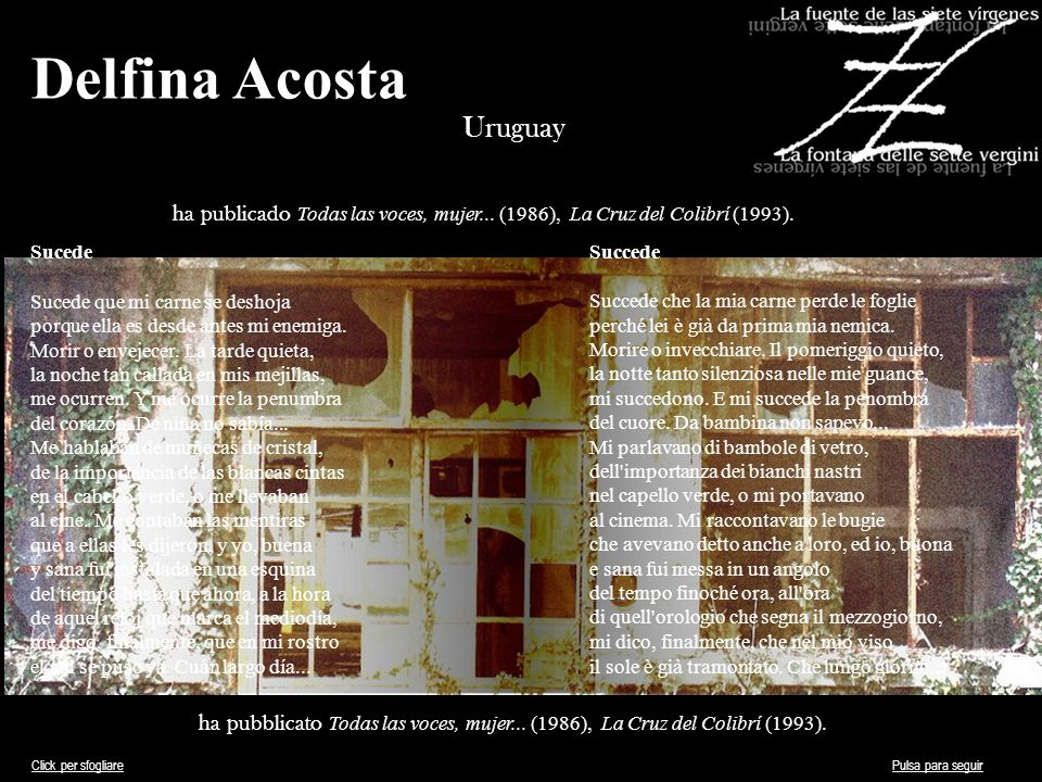 Delfina Acosta Uruguay