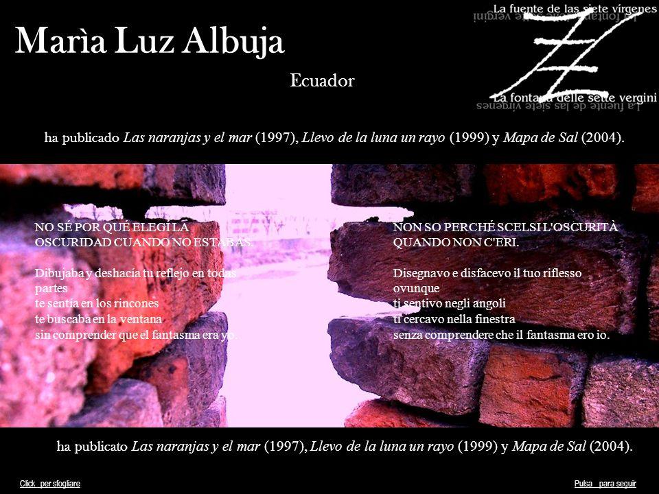 Marìa Luz Albuja Ecuador