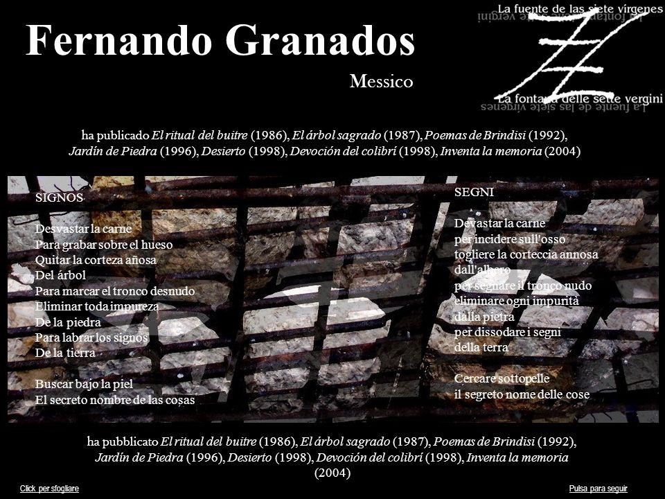 Fernando Granados Messico