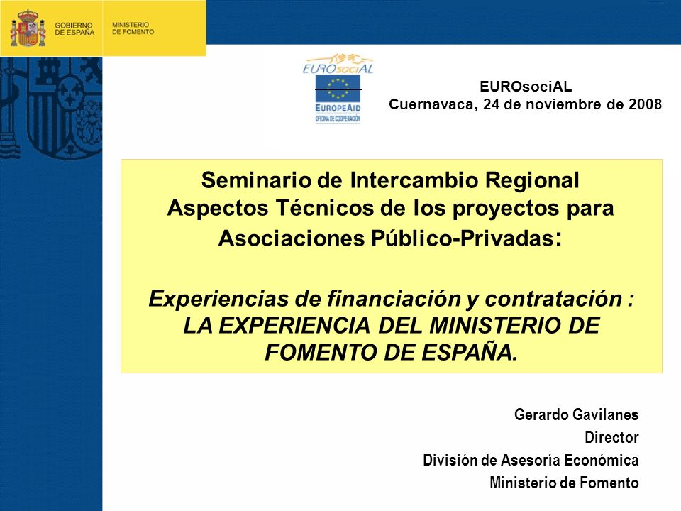 Seminario de Intercambio Regional