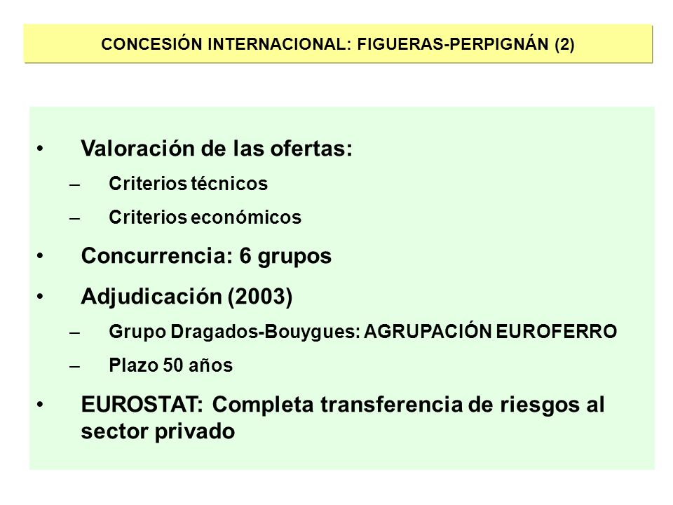 CONCESIÓN INTERNACIONAL: FIGUERAS-PERPIGNÁN (2)