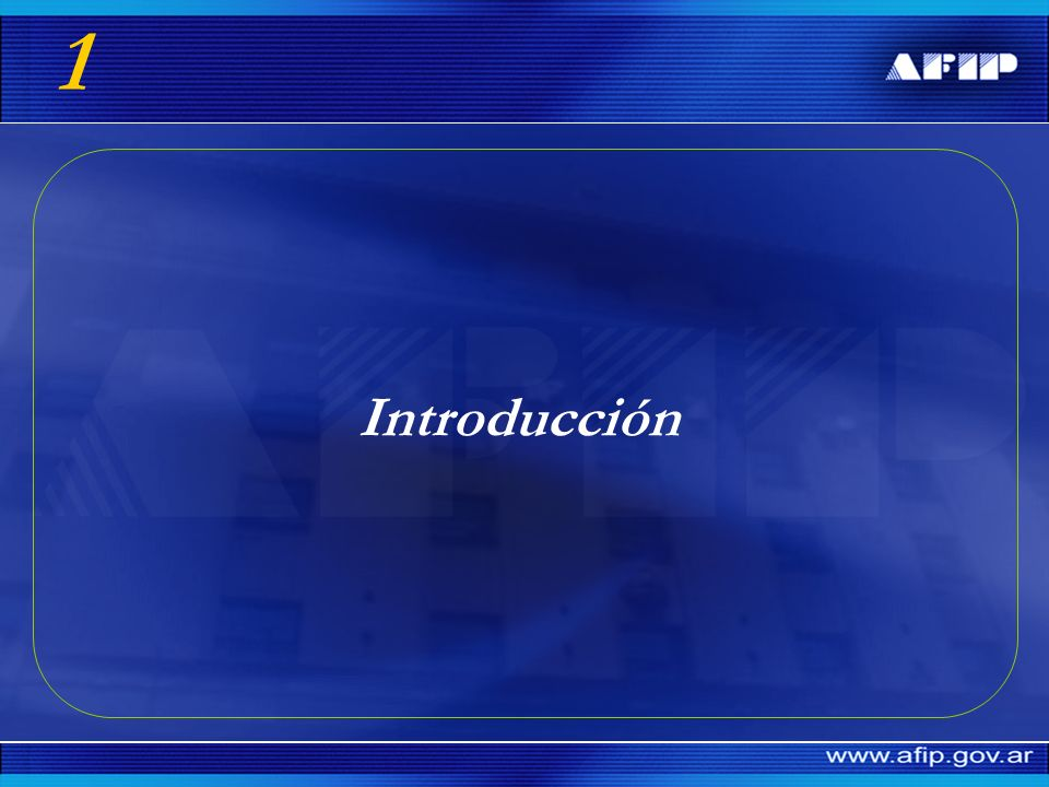 1 Introducción