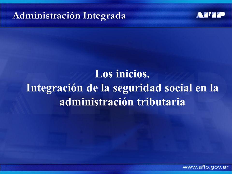Integración de la seguridad social en la administración tributaria