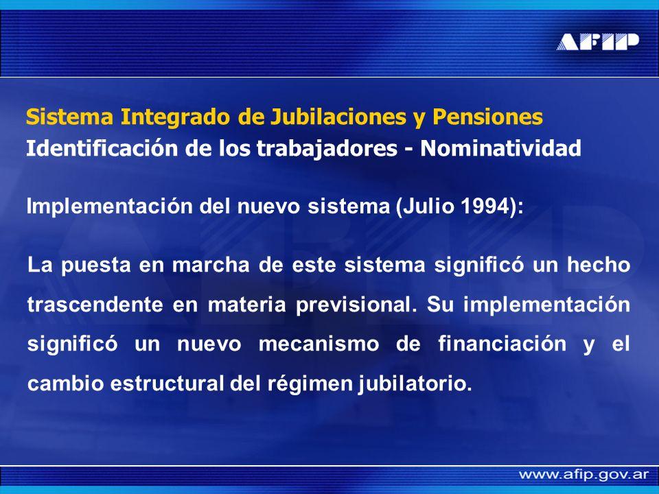 Sistema Integrado de Jubilaciones y Pensiones