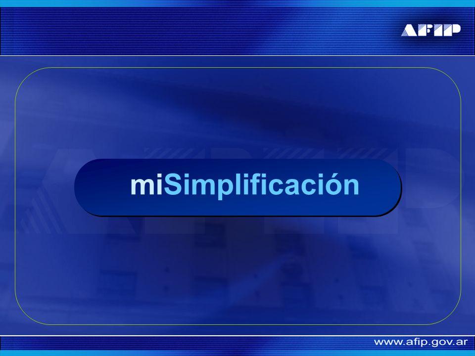 miSimplificación