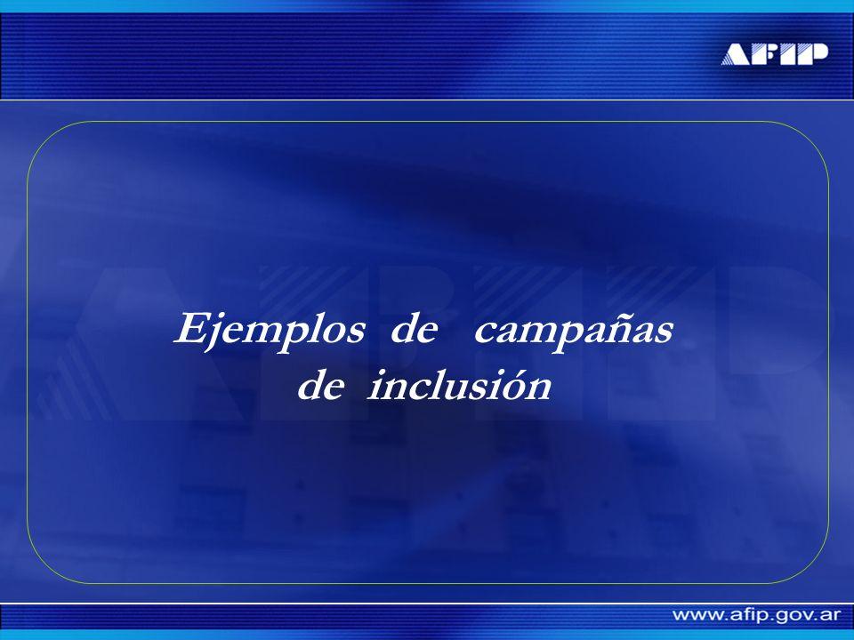 Ejemplos de campañas de inclusión