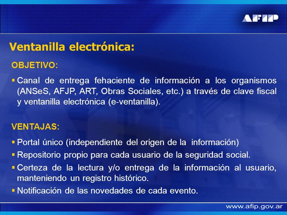 Ventanilla electrónica: