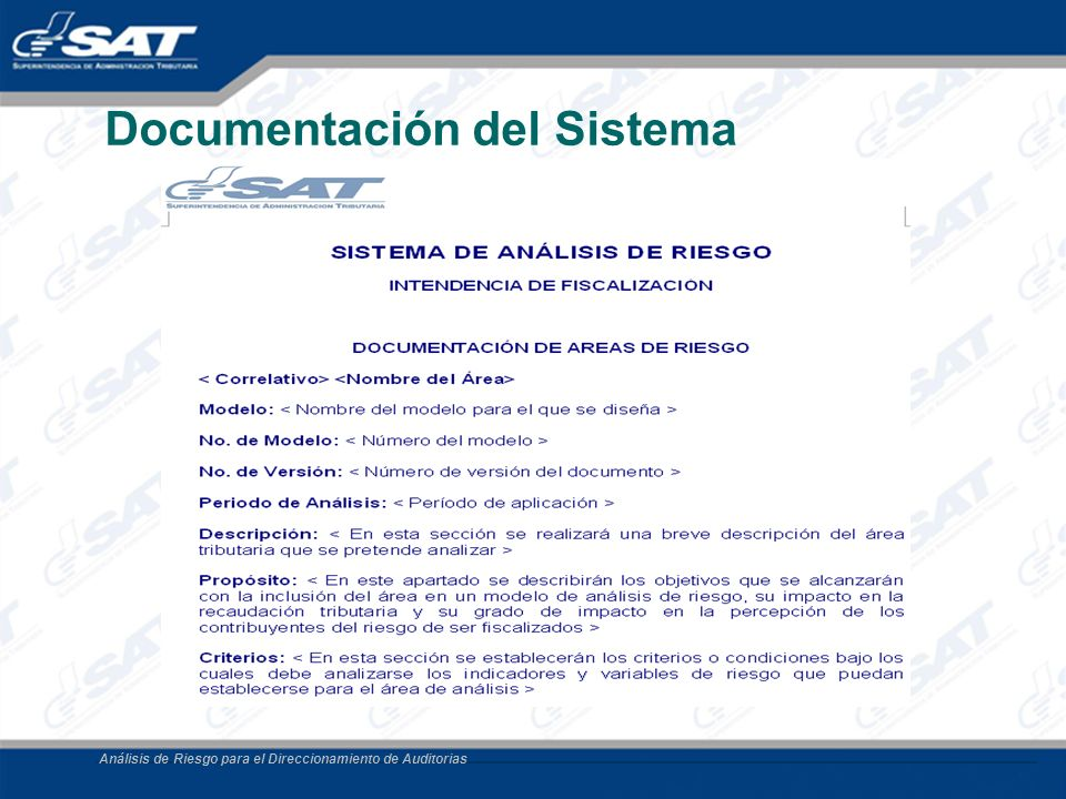 Documentación del Sistema