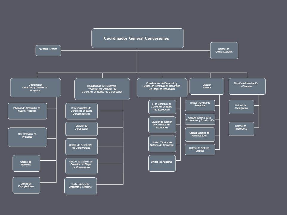 Coordinador General Concesiones