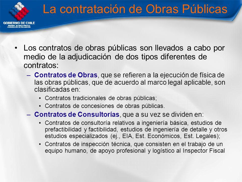 La contratación de Obras Públicas