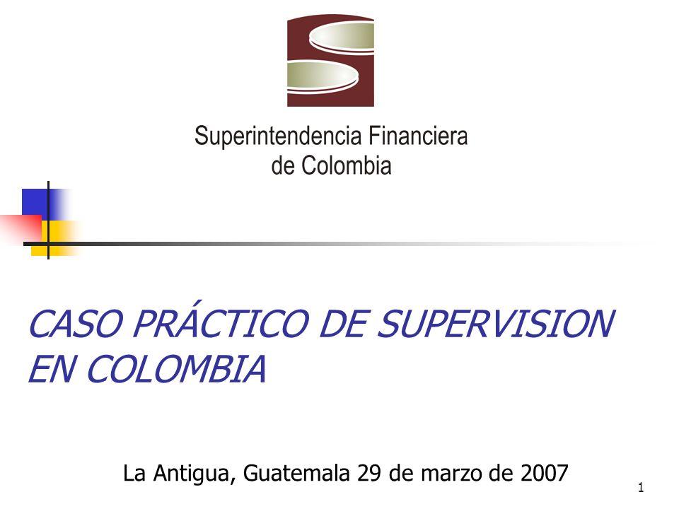 CASO PRÁCTICO DE SUPERVISION EN COLOMBIA
