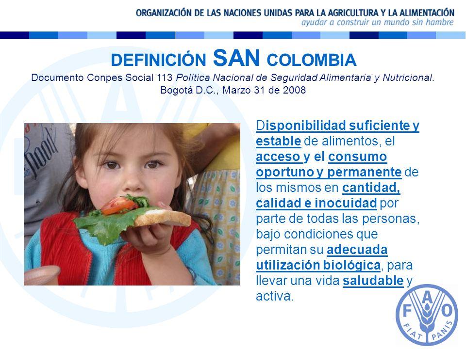DEFINICIÓN SAN COLOMBIA
