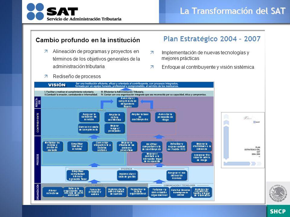 La Transformación del SAT