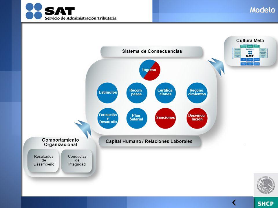 Sistema de Consecuencias Capital Humano / Relaciones Laborales