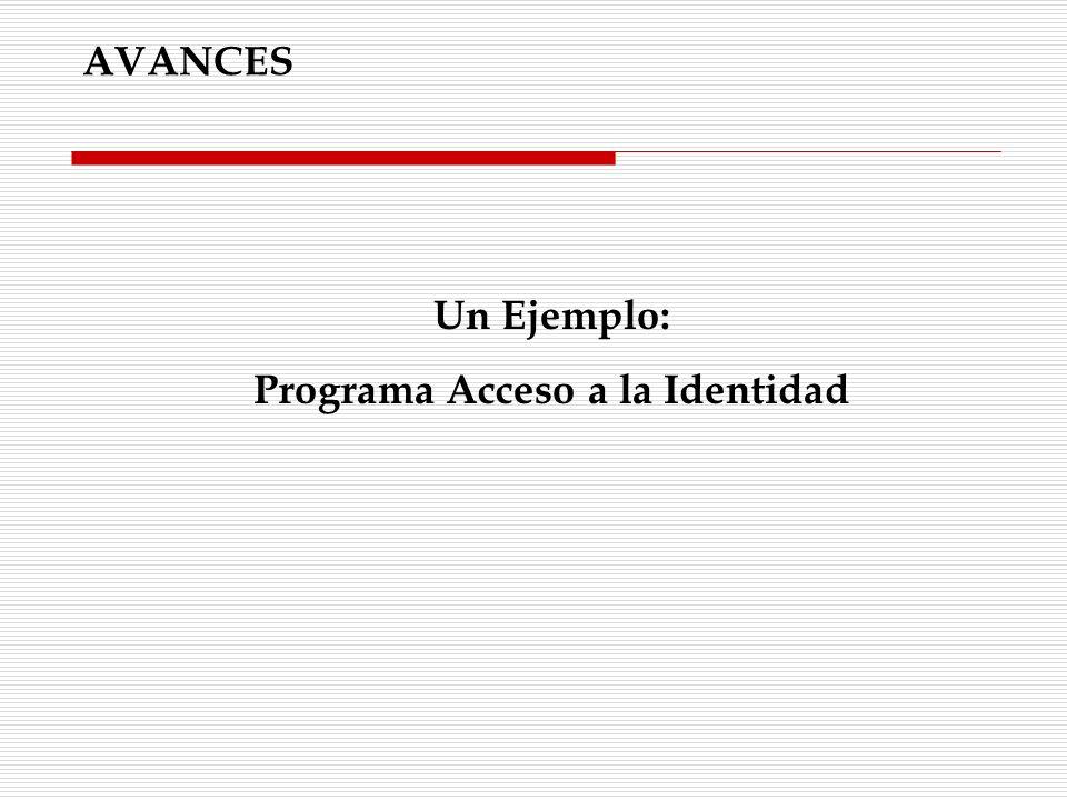 Programa Acceso a la Identidad