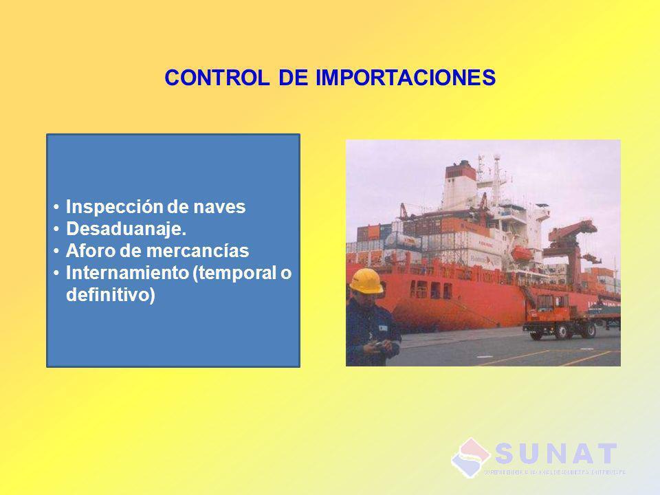 CONTROL DE IMPORTACIONES