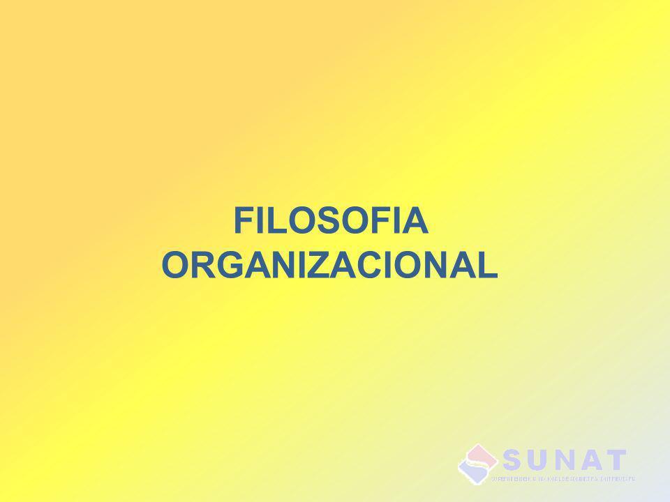 FILOSOFIA ORGANIZACIONAL