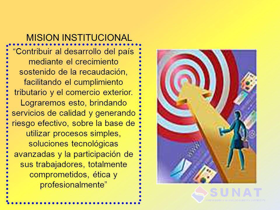 MISION INSTITUCIONAL