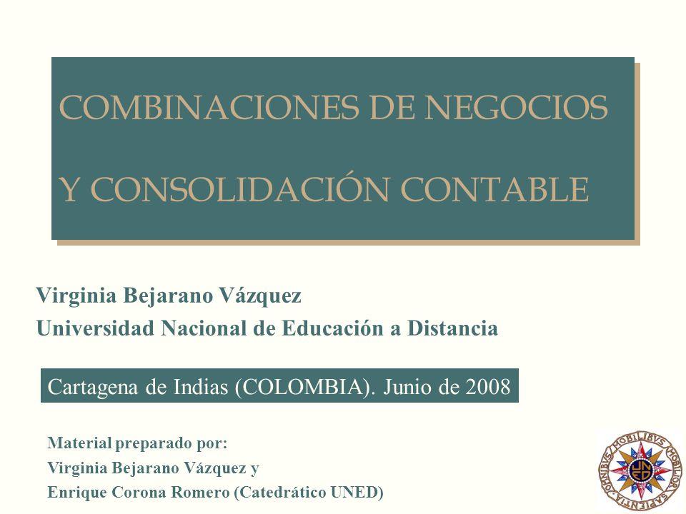COMBINACIONES DE NEGOCIOS Y CONSOLIDACIÓN CONTABLE