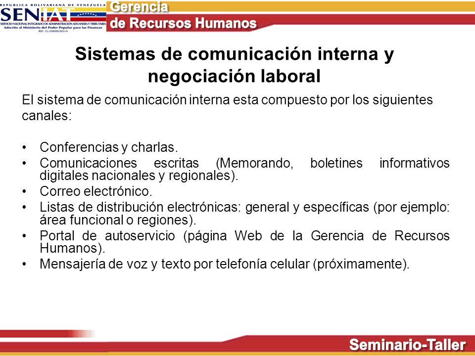 Sistemas de comunicación interna y negociación laboral