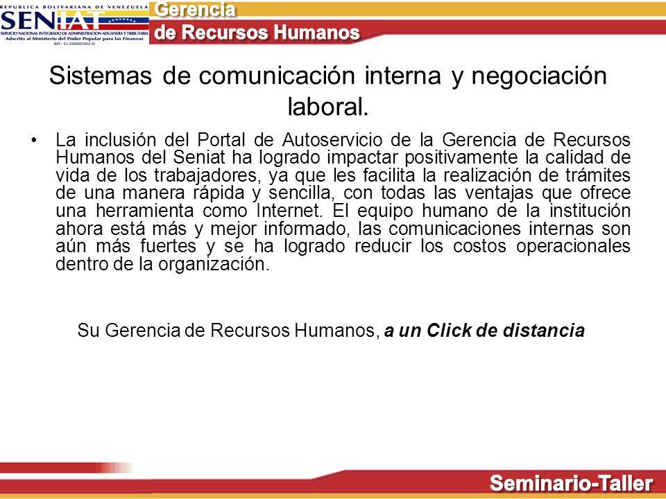 Sistemas de comunicación interna y negociación laboral.