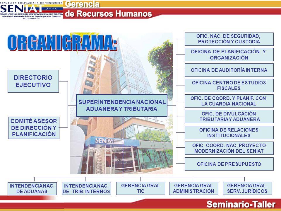 ORGANIGRAMA: DIRECTORIO EJECUTIVO SUPERINTENDENCIA NACIONAL