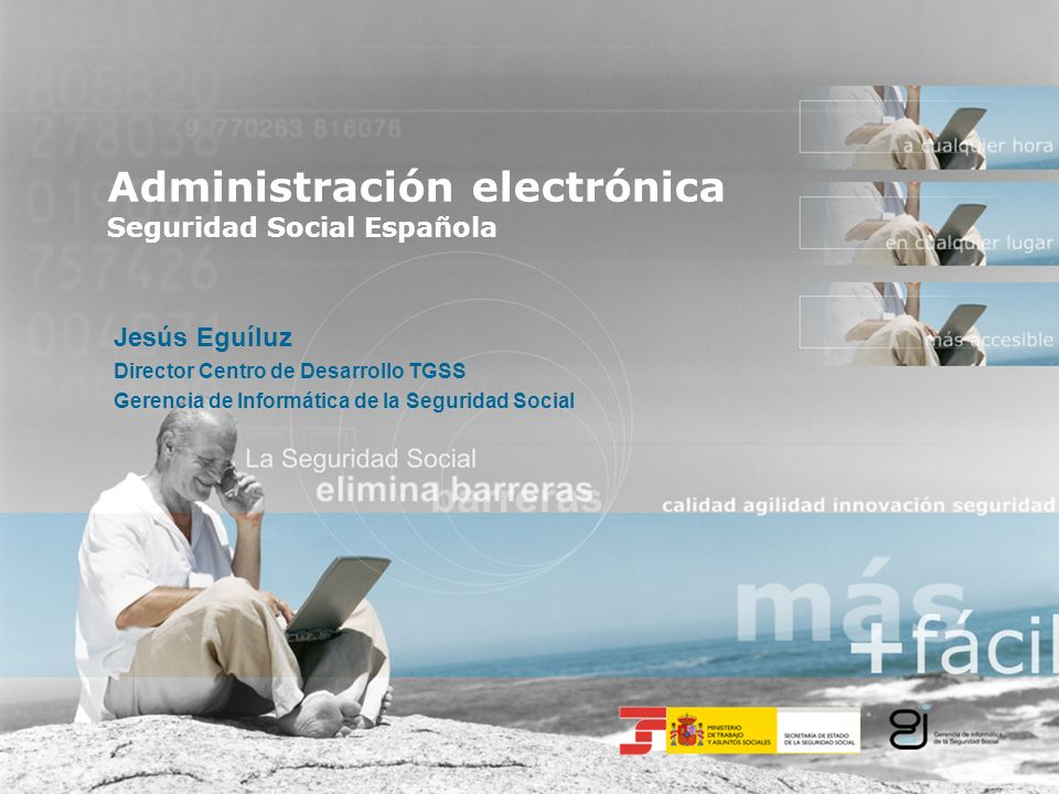Administración electrónica Seguridad Social Española