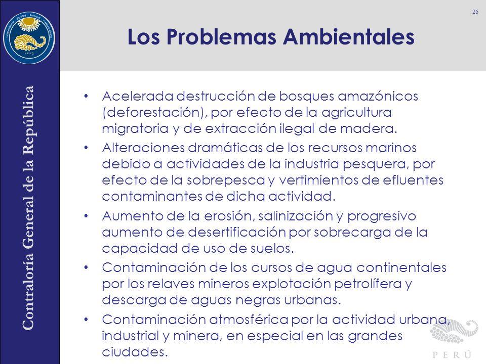 Los Problemas Ambientales