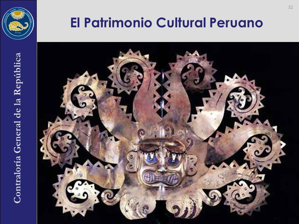 El Patrimonio Cultural Peruano