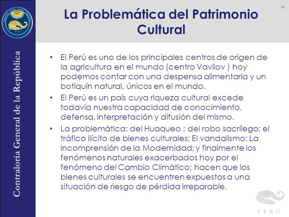 La Problemática del Patrimonio Cultural
