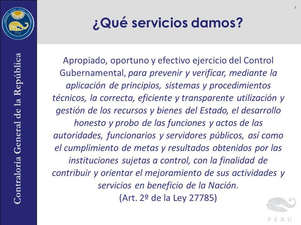 ¿Qué servicios damos