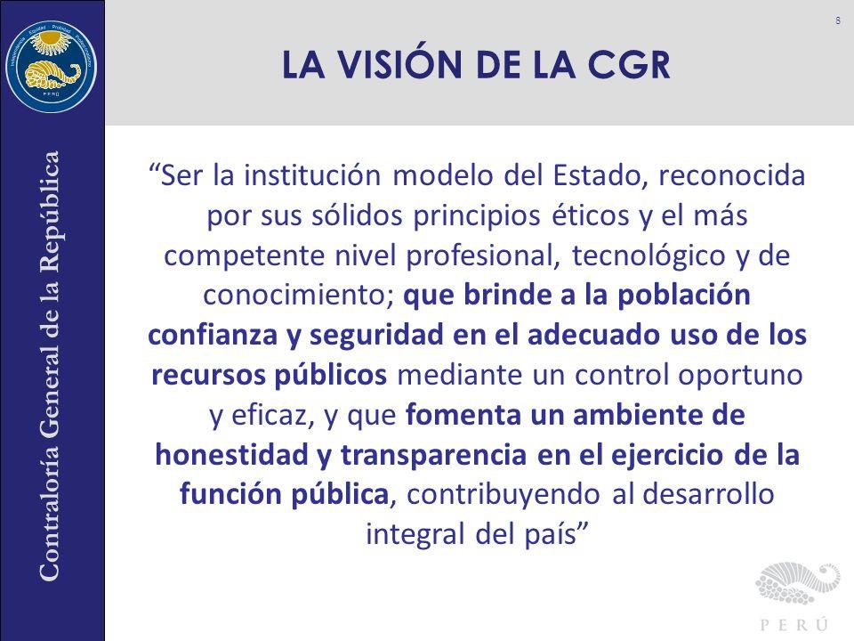 LA VISIÓN DE LA CGR