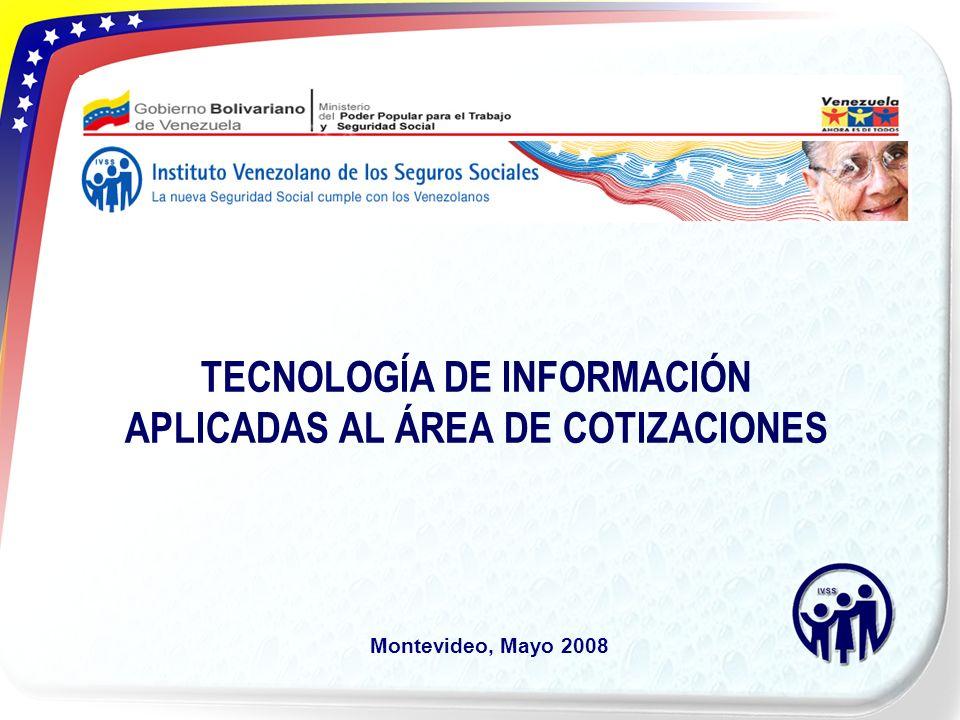 TECNOLOGÍA DE INFORMACIÓN APLICADAS AL ÁREA DE COTIZACIONES