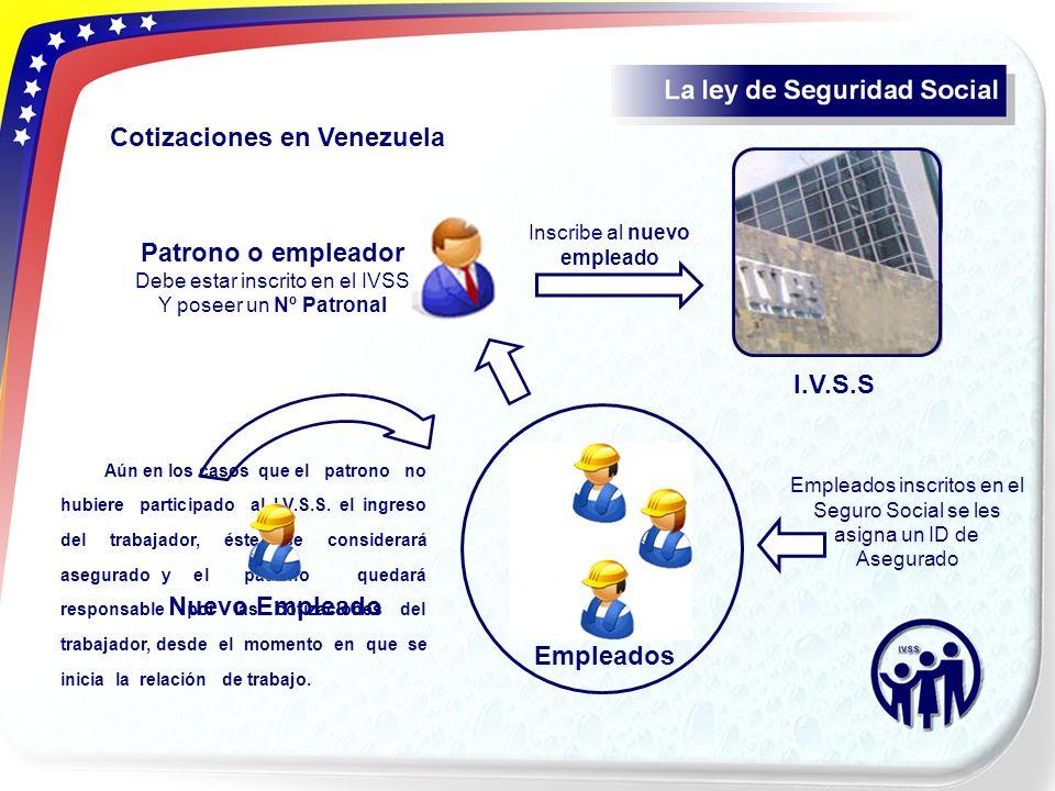 Patrono o empleador Nuevo Empleado Empleados