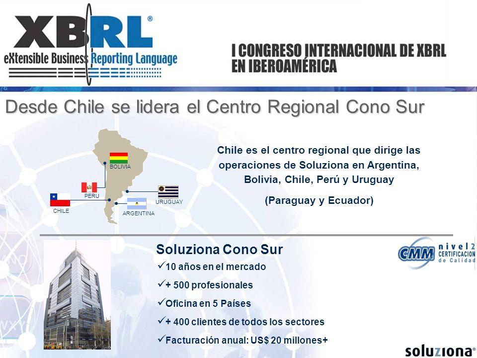 Desde Chile se lidera el Centro Regional Cono Sur