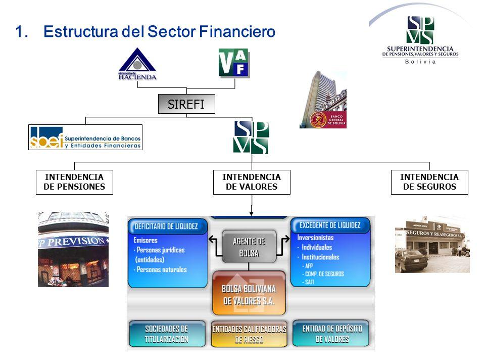 1. Estructura del Sector Financiero
