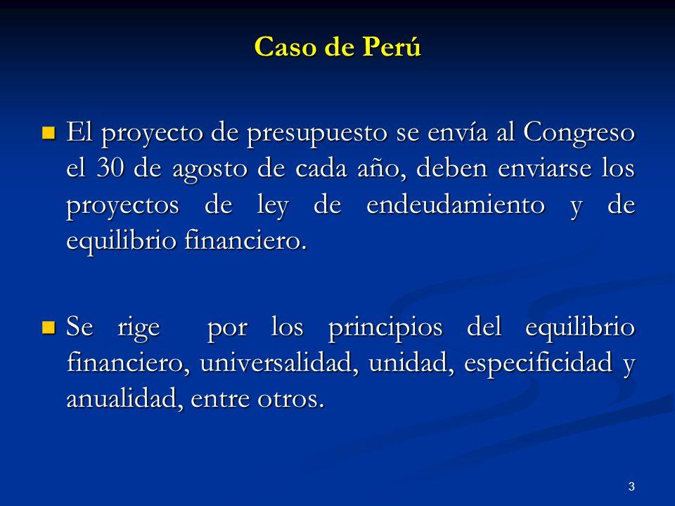 Caso de Perú