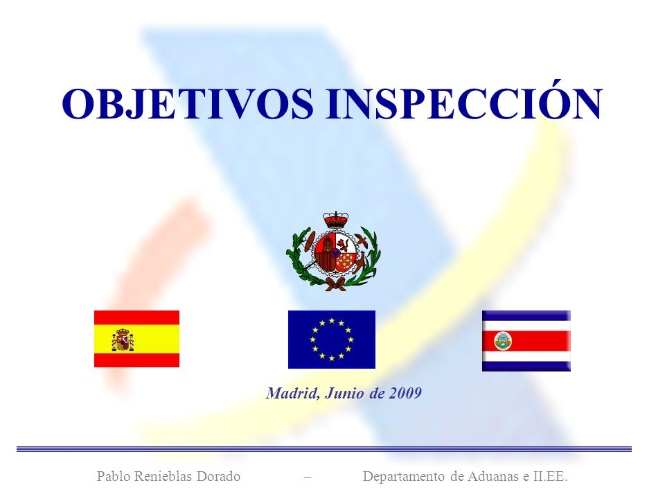 Pablo Renieblas Dorado – Departamento de Aduanas e II.EE.