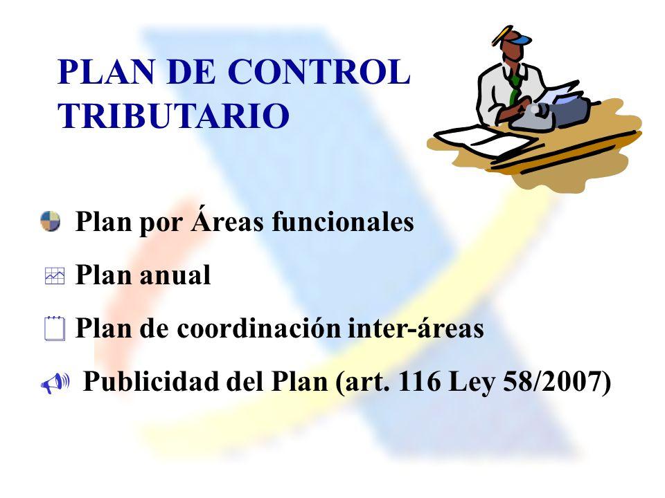 PLAN DE CONTROL TRIBUTARIO