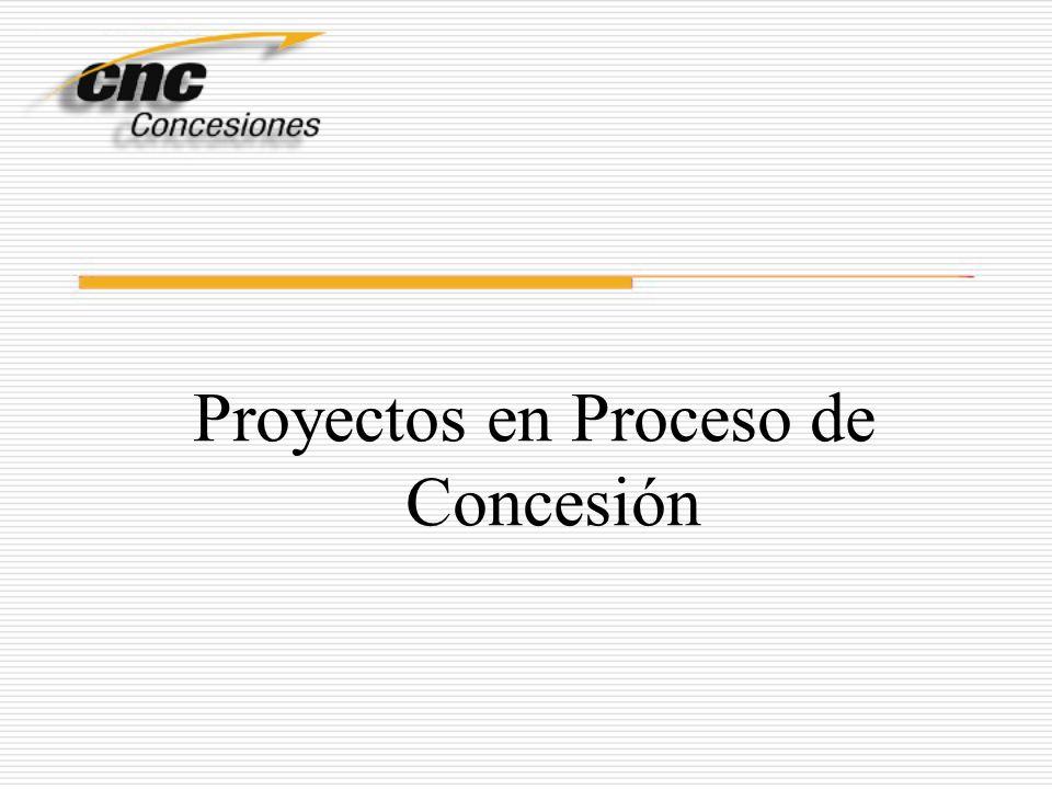 Proyectos en Proceso de Concesión