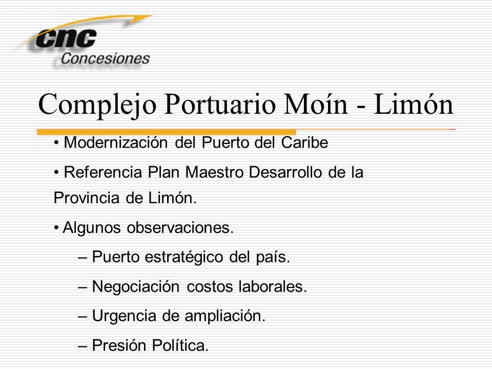 Complejo Portuario Moín - Limón