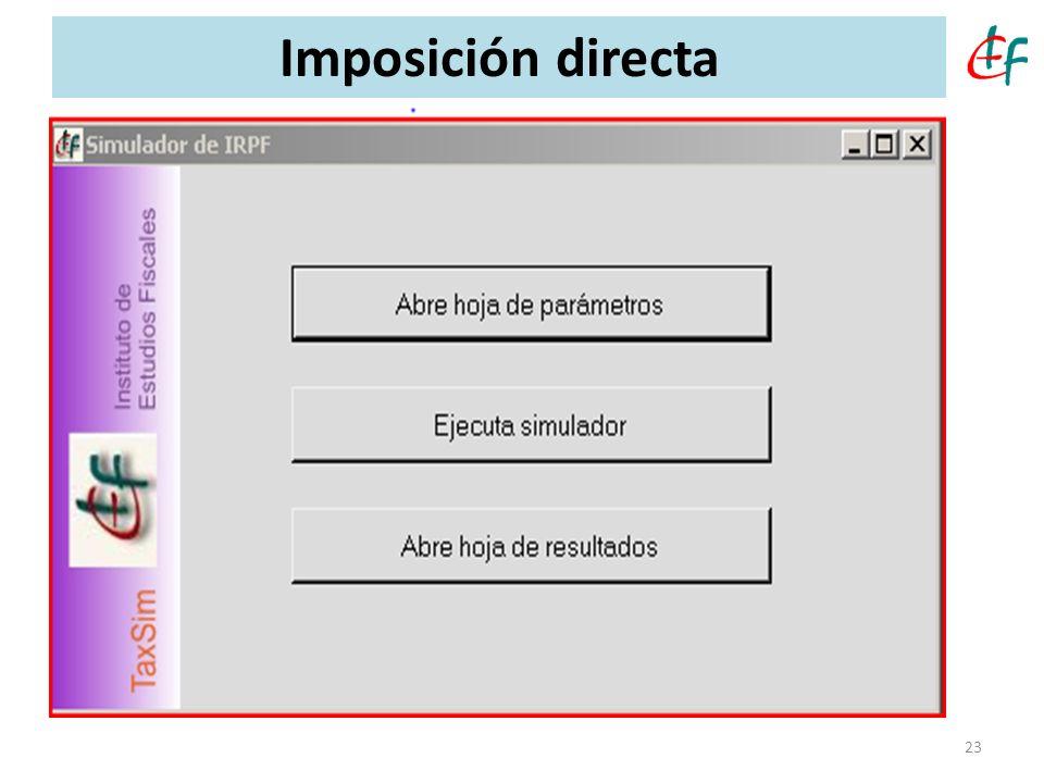 Imposición directa