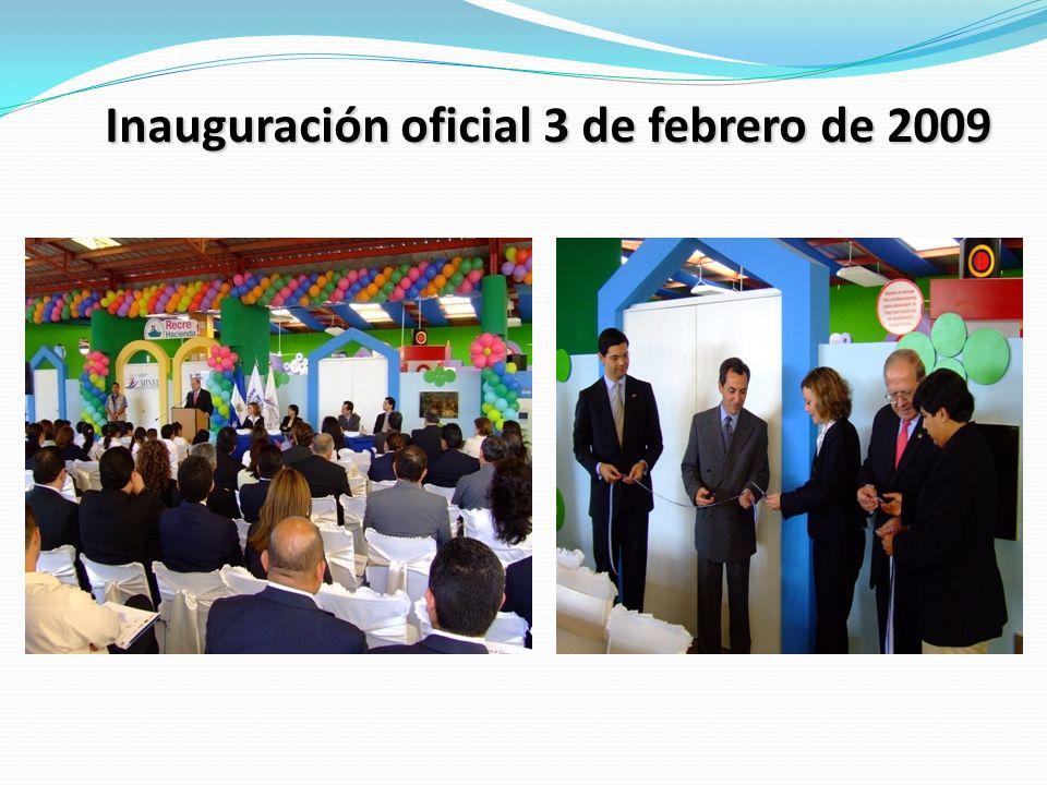 Inauguración oficial 3 de febrero de 2009