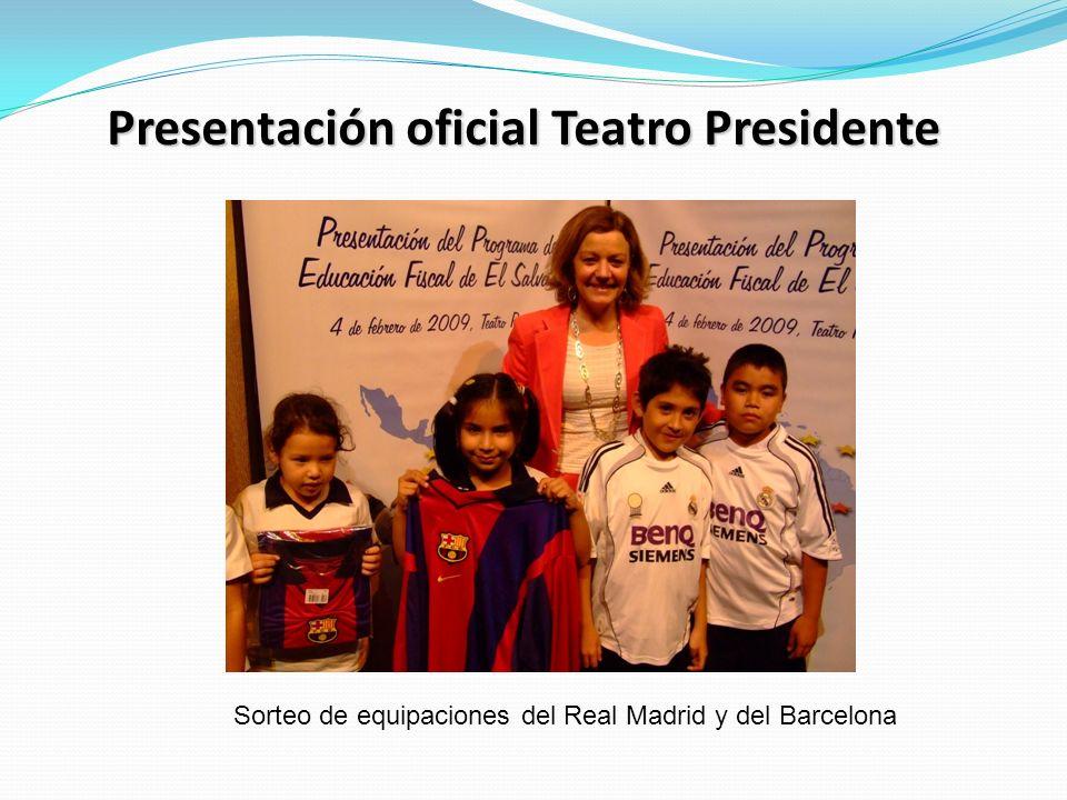 Presentación oficial Teatro Presidente