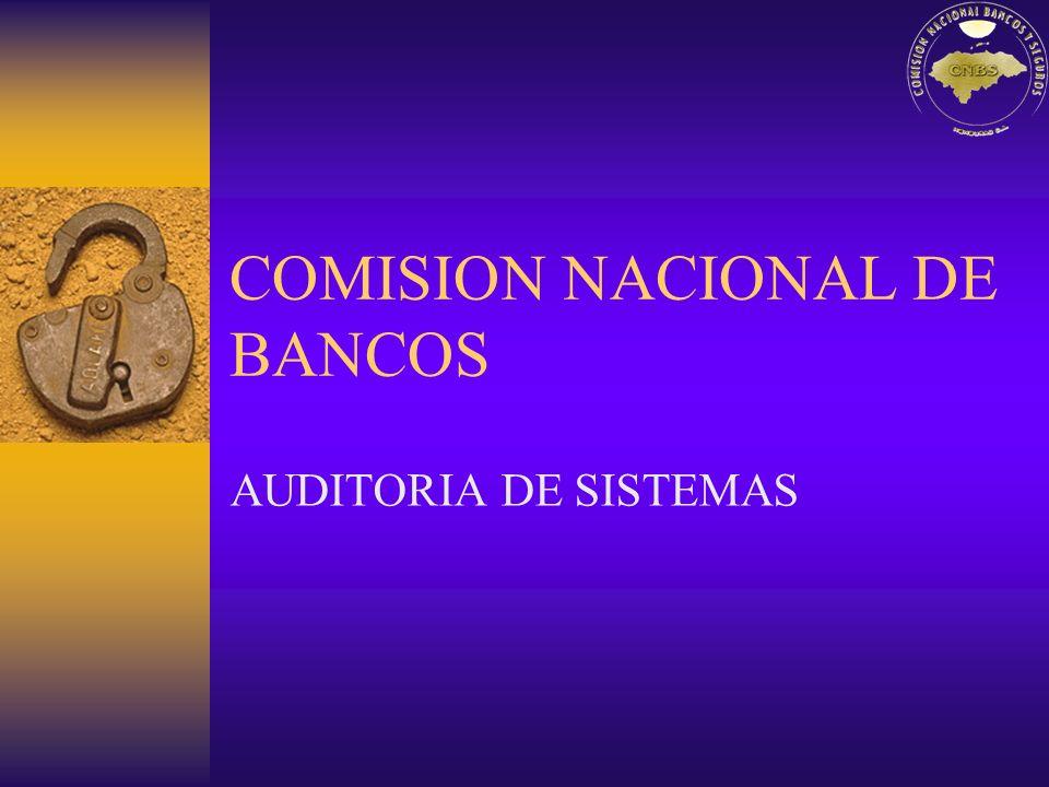 COMISION NACIONAL DE BANCOS